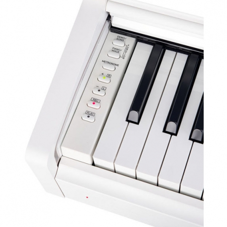 Yamaha YDP163WH Dijital Piyano (Mat Beyaz)<br>Fotoğraf: 3/7