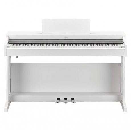 Yamaha YDP163WH Mat Beyaz Dijital Piyano (Tabure & Kulaklık Hediyeli)<br>Fotoğraf: 1/8