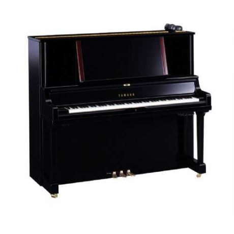 Yamaha YUS5SH Silent Duvar Piyanosu (Parlak Siyah)<br>Fotoğraf: 1/1