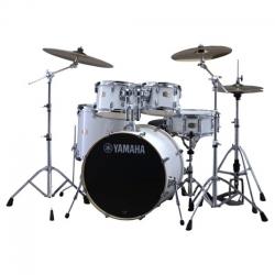 YamahaStage Custom Birch 5-Parça Akustik Davul Seti (Pure White)