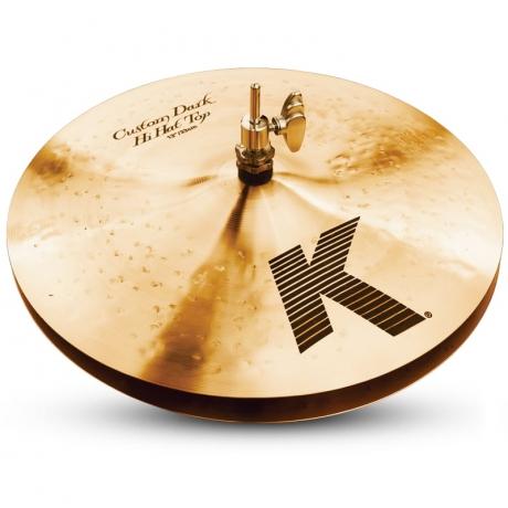 "Zildjian 13"" K Custom Dark Hi-Hat<br>Fotoğraf: 1/1"