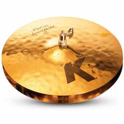 "Zildjian 14"" K Custom Session Hi-Hat"