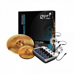 Zildjian Gen16 Dijital/Akustik Trigger Zil seti- 2'li Set Bronze