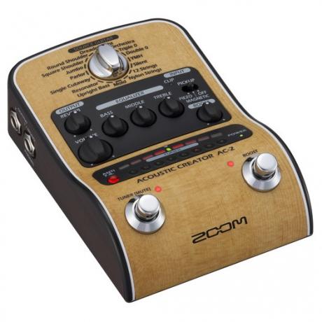 Zoom AC-2 Acoustic Creator Efekt Pedalı<br>Fotoğraf: 4/6