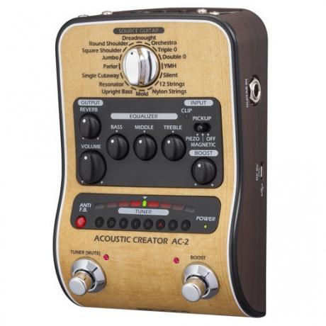 Zoom AC-2 Akustik Creator Efekt Pedalı<br>Fotoğraf: 2/6