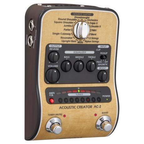 Zoom AC-2 Akustik Creator Efekt Pedalı<br>Fotoğraf: 3/6