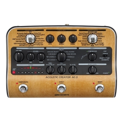 Zoom Ac-3 Akustik Gitar Prosesörü