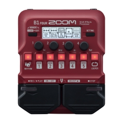 Zoom B1 FOUR Bass Multi-Efekt Prosesörü