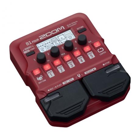 Zoom B1 FOUR Bass Multi-Efekt Prosesörü<br>Fotoğraf: 2/3
