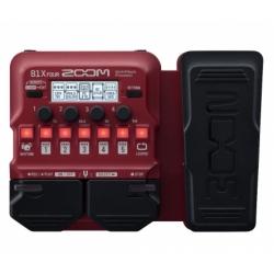 Zoom B1x FOUR Expression Pedallı Bass Multi-Efekt Prosesörü