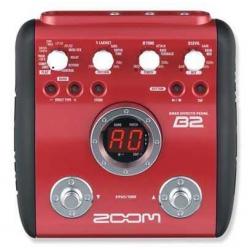 Zoom B2 Bas Gitar Prosesörü