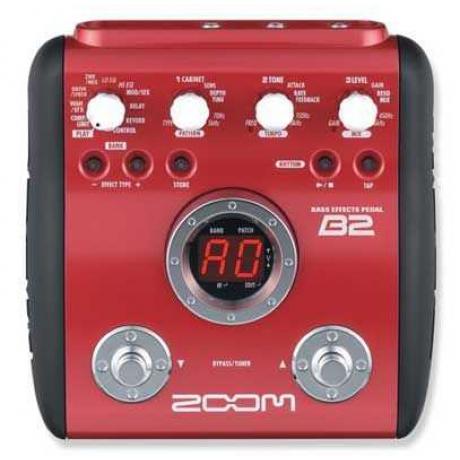 Zoom B2 Bass Gitar Prosesörü<br>Fotoğraf: 1/1