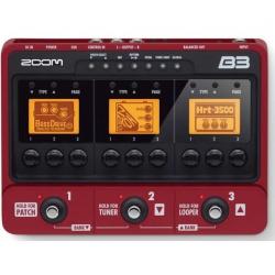 Zoom B3 Bas Gitar Prosesörü