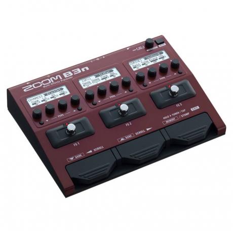 Zoom B3n Bass Multi Efekt Processor<br>Fotoğraf: 2/3