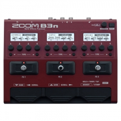 Zoom B3n Bass Multi Efekt Processor