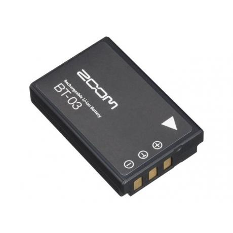 Zoom BT-03 Q8 için Şarj Edilebilir Li-ion Batarya<br>Fotoğraf: 1/1