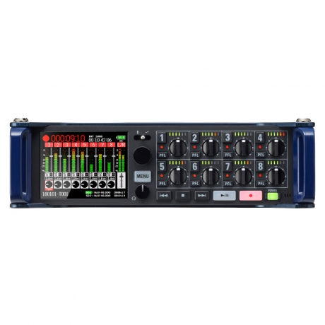 Zoom F8N Multitrack Field Recorder<br>Fotoğraf: 1/8