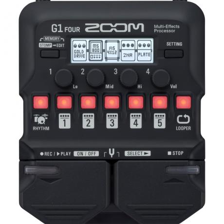 Zoom G1 FOUR Multi-Efekt Prosesör<br>Fotoğraf: 1/3