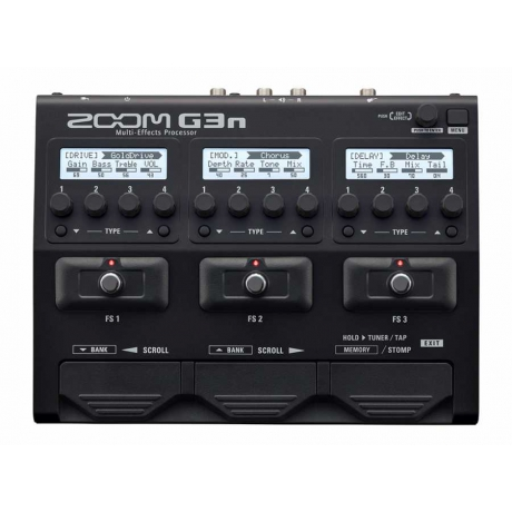Zoom G3n Multi-Effects Processor<br>Fotoğraf: 1/1