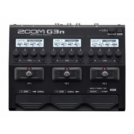Zoom G3n Multi-Effects Prosesörü<br>Fotoğraf: 1/1
