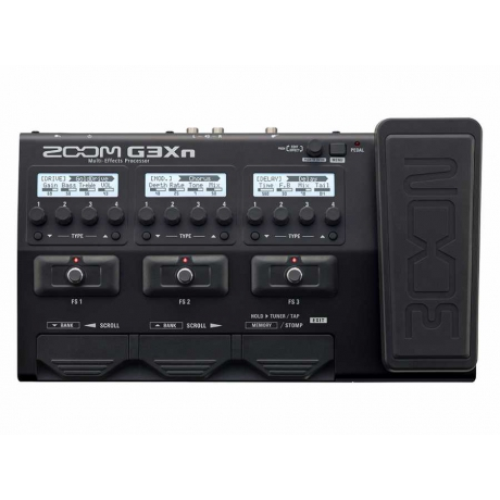 Zoom G3Xn Multi-Effects Processor<br>Fotoğraf: 1/4