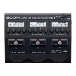 Zoom GCE-3 Guitar Lab Circuit Emulator USB Pedal Ses Kartı