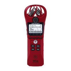 Zoom H1n Digital Handy Recorder (Kırmızı)