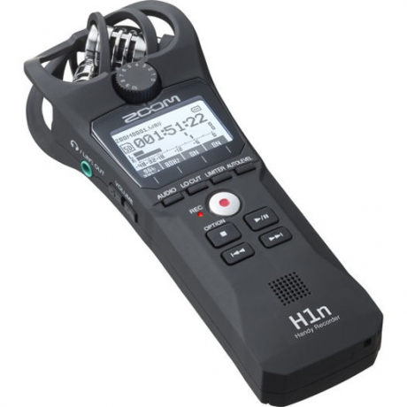 Zoom H1n Digital Handy Recorder (Siyah)<br>Fotoğraf: 2/6