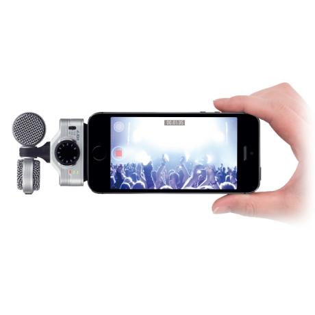 Zoom IQ7 Stereo Kayıt Mikrofonu iPhone/iPad/iPod Uyumlu<br>Fotoğraf: 5/5