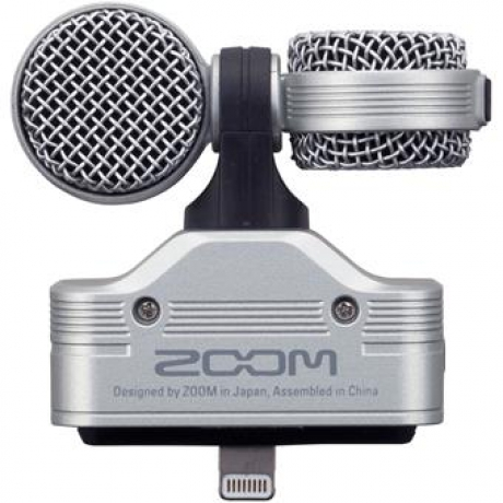 Zoom IQ7 Stereo Kayıt Mikrofonu iPhone/iPad/iPod Uyumlu<br>Fotoğraf: 3/5