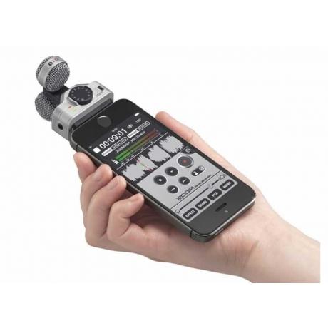 Zoom IQ7 Stereo Kayıt Mikrofonu iPhone/iPad/iPod Uyumlu<br>Fotoğraf: 1/5