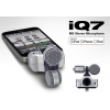 Zoom IQ7 Stereo Kayıt Mikrofonu iPhone/iPad/iPod Uyumlu<br>Fotoğraf: 2/5