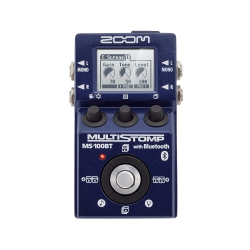 Zoom MS100BT MultiStomp Elektro Gitar Pedalı (Bluetooth)