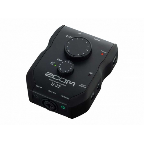 Zoom U-22 Handy Audio Interface<br>Fotoğraf: 2/4